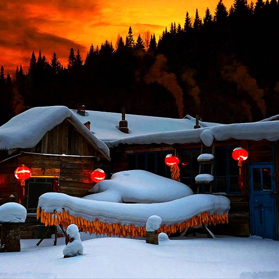 【寒假&春节】冰雪王国、梦幻雪乡,哈尔滨-雪乡-长白山-雾凇-吉林-B线(酒店大升级)