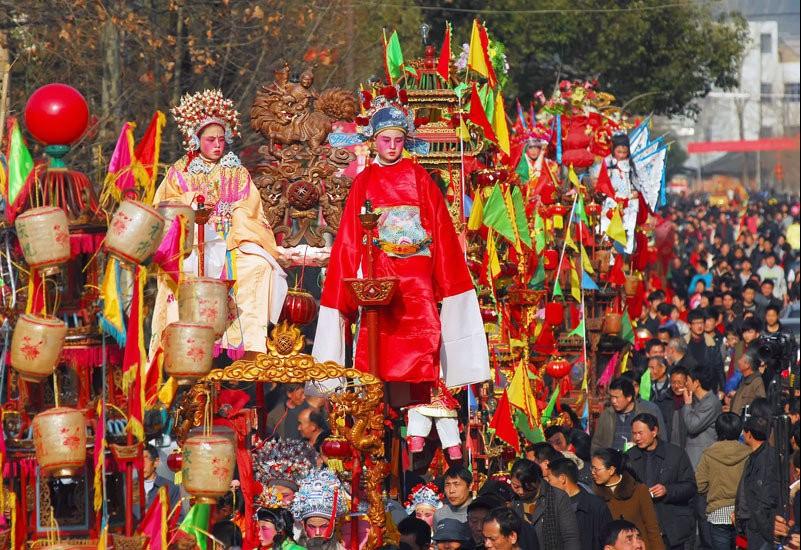 【元宵节】徒步森林古道、泡森林养生温泉,逛前童古镇,看一场延续500年的元宵盛会国