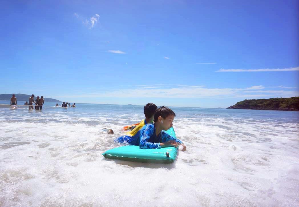 【周末营-戏水季】听海,拾贝,冲浪,挖沙,阳光沙滩、篝火海鲜,浪漫的海岛,浪漫的你—趣。象山